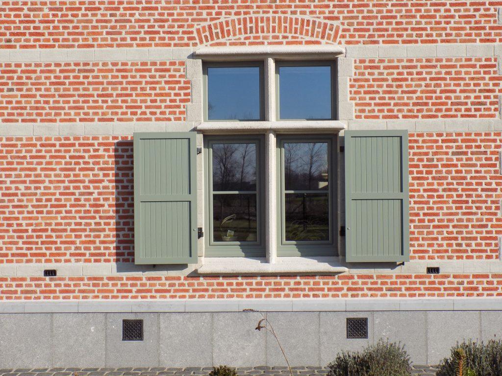 Kleuren in aluminium ramen